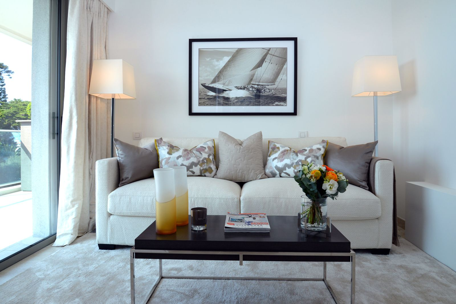 cap d 39 antibes d coration d 39 int rieur d corateurs villas et appartements de luxe. Black Bedroom Furniture Sets. Home Design Ideas